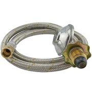 "Braided Gas Hose POL to 3/8""SAE - 2m"