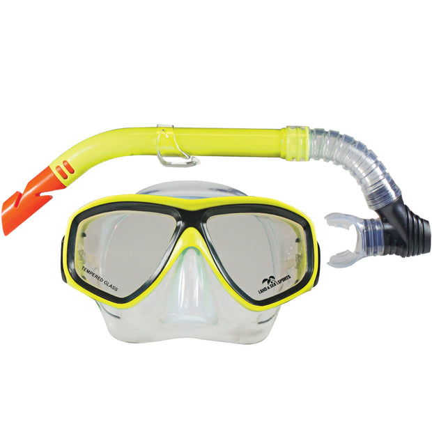 Clearwater Mask & Snorkel Set