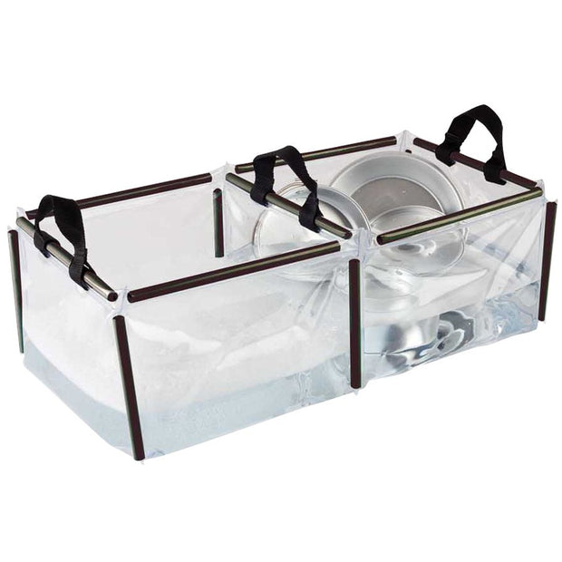 Collapsible Double Wash Basin