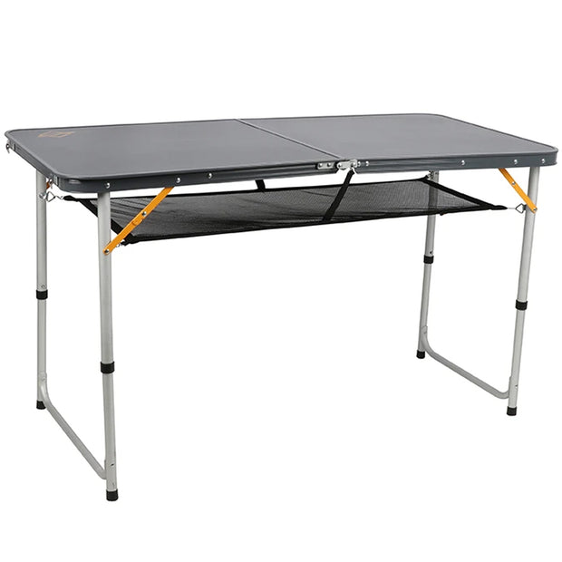 Folding Table with Storage Net