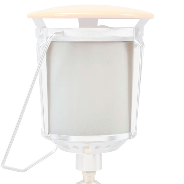 Replacement Frosted Glass - Large Gas Lantern