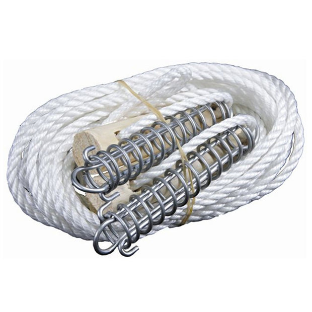 Double Heavy Duty Guy Rope with Spring