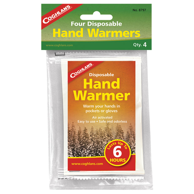 Disposable Hand Warmers - 4 Pack