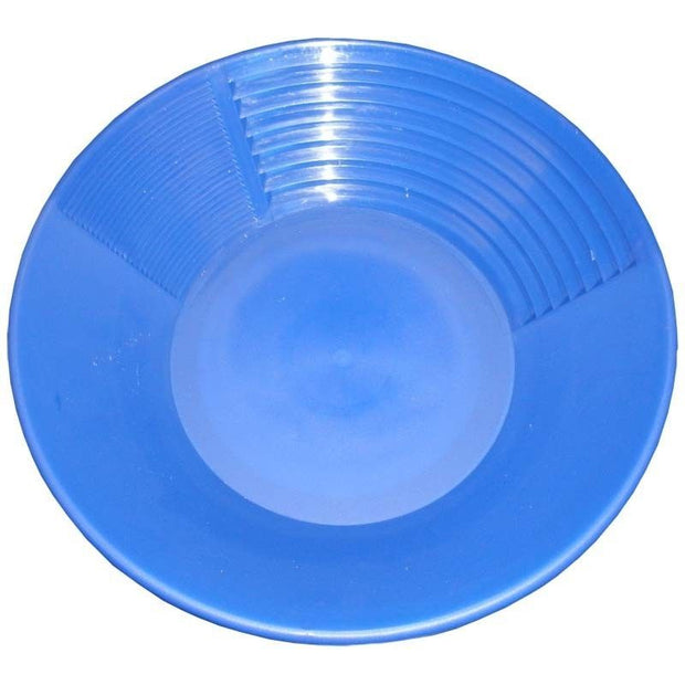 "16"" Blue Gold Pan"