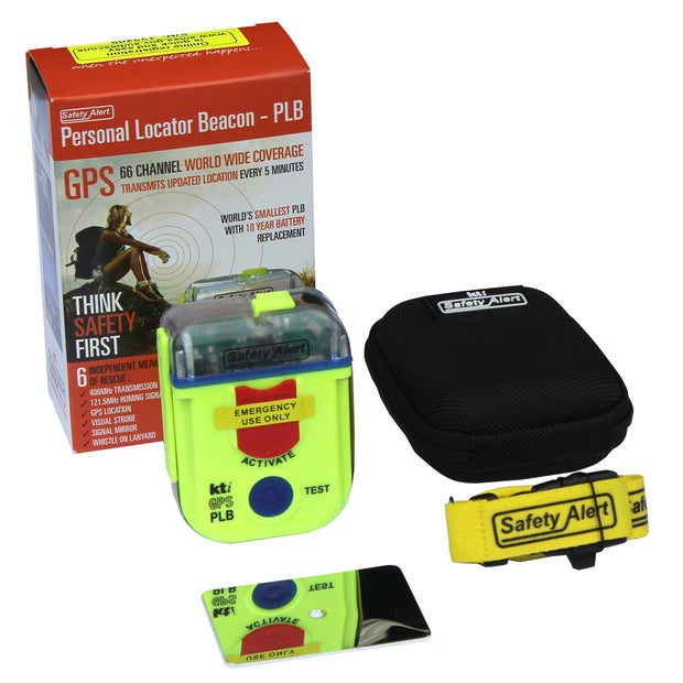 Safety Alert PLB Personal Locator Beacon