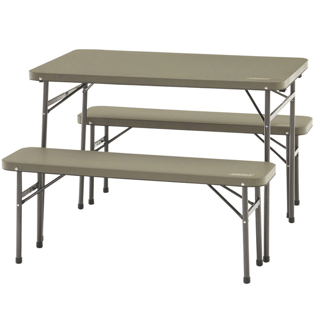 Pack-away Table and Bench Set