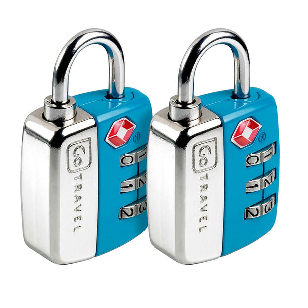 Twin Travel Sentry Luggage Locks