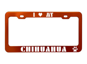 GoTags Pet Breed Personalized License Plate Frame