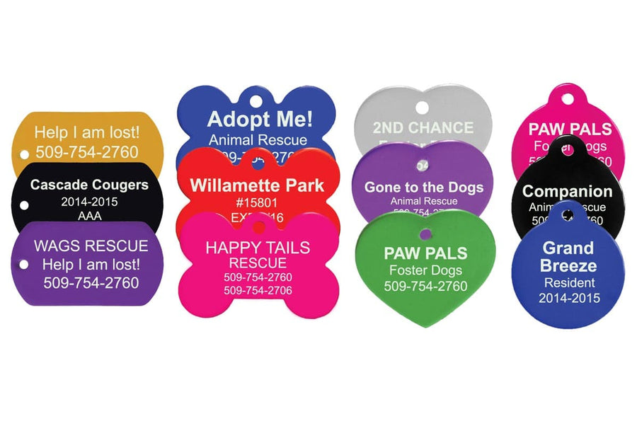 GoTags Custom Pet Tags Personalized Engraved Bulk Wholesale