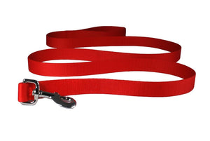 GoTags Red Nylon Dog Leash 6 Feet