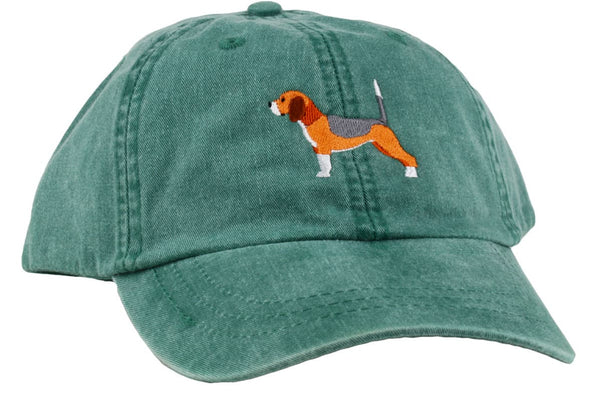 GoTags Beagle Baseball Cap, Soft Twill Dad Hat Embroidered with Beagle Dog