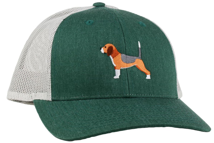 GoTags Beagle Trucker Hats, Baseball Cap Embroidered with Beagle Dog, Mesh Sides