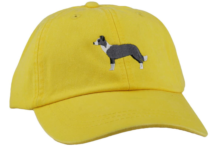 GoTags Collie Baseball Cap, Soft Twill Dad Hat Embroidered with Collie Dog