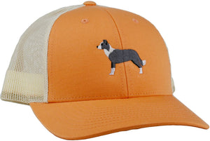 GoTags Border Collie Trucker Hats, Baseball Cap Embroidered with Border Collie Dog, Mesh Sides