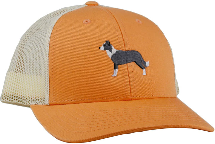 GoTags Embroidered Border Collie Trucker Caps