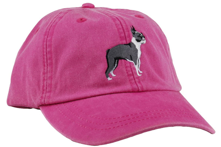 GoTags Boston Terrier Baseball Cap, Soft Twill Dad Hat Embroidered with Boston Terrier Dog