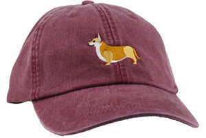 GoTags Embroidered Corgi Baseball Cap