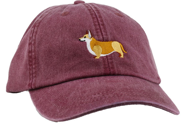 GoTags Corgi Baseball Cap,  Soft Twill Dad Hat Embroidered with Corgi Dog