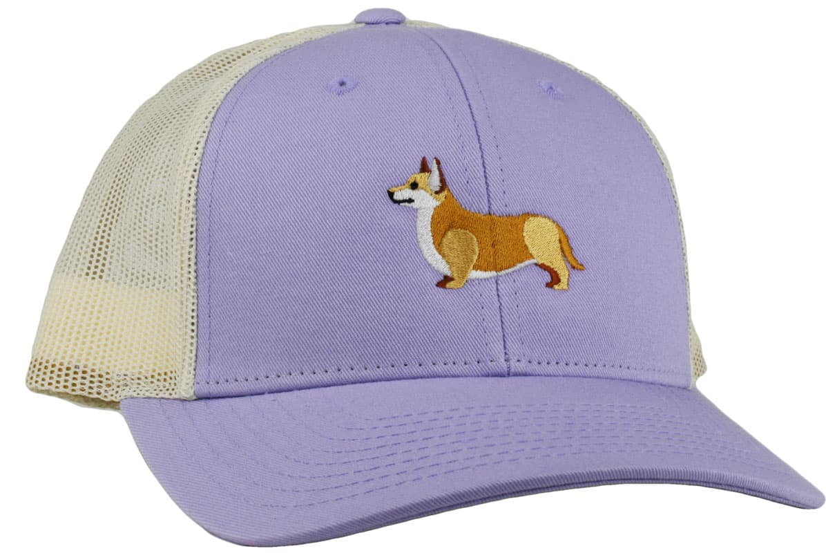 GoTags Embroidered Corgi Trucker Caps