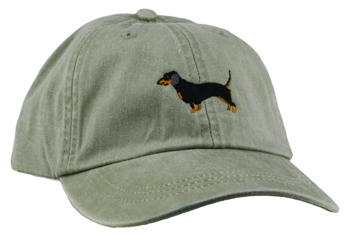 GoTags Embroidered Dachshund Baseball Cap