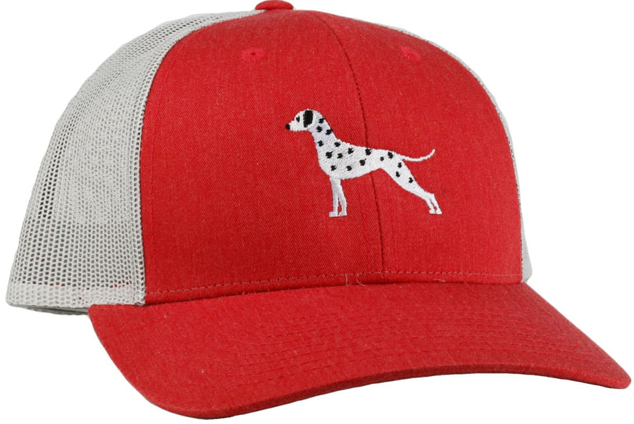 Dalmatian Embroidered Trucker Cap