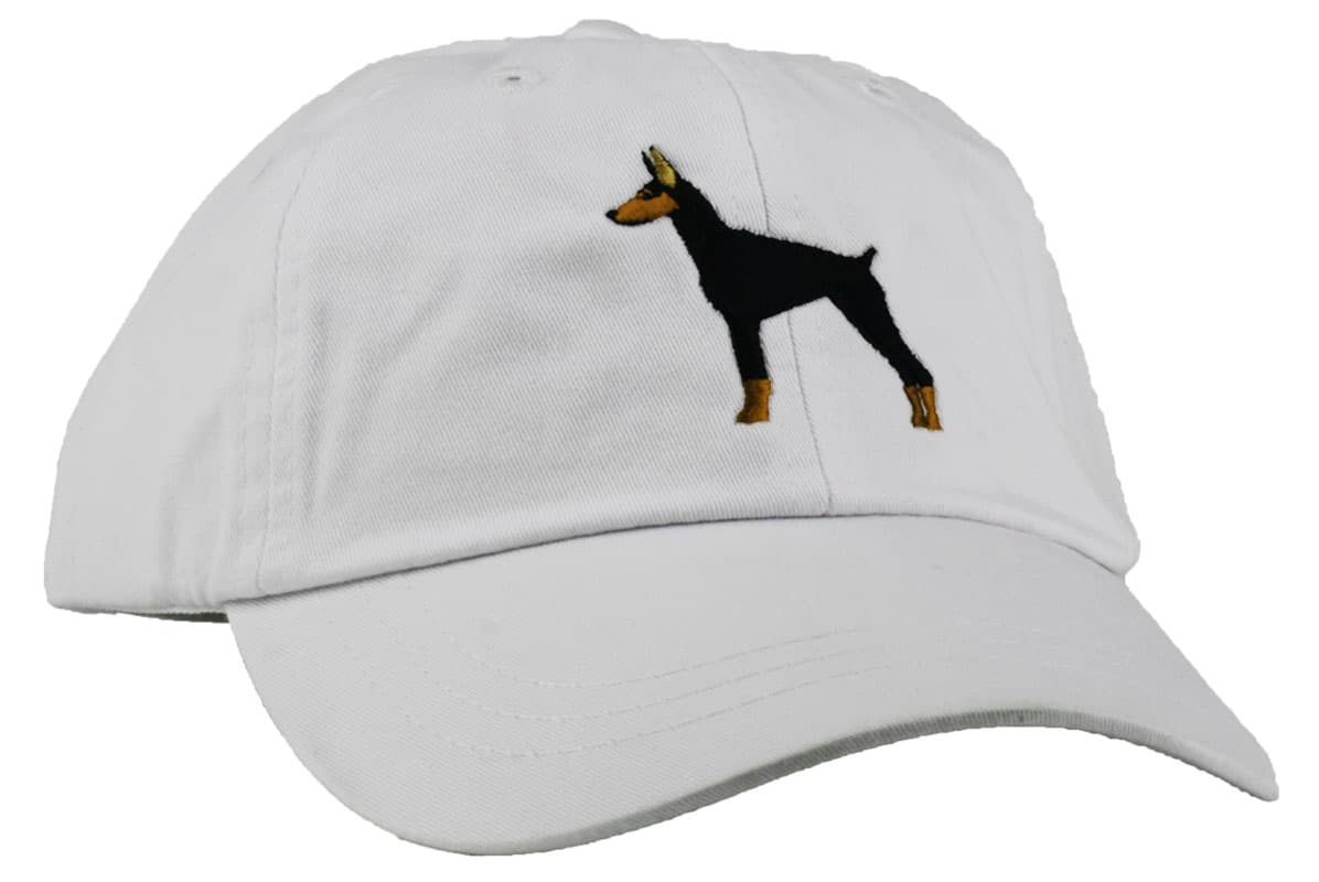 GoTags Embroidered Doberman Baseball Cap
