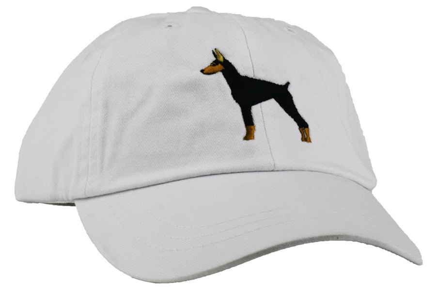 GoTags Doberman Baseball Cap, Soft Twill Dad Hat Embroidered with Doberman Dog