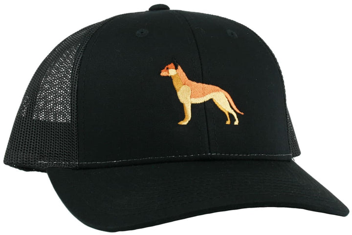 GoTags German Shepherd Trucker Hats, Baseball Cap Embroidered with German Shepherd Dog, Mesh Sides