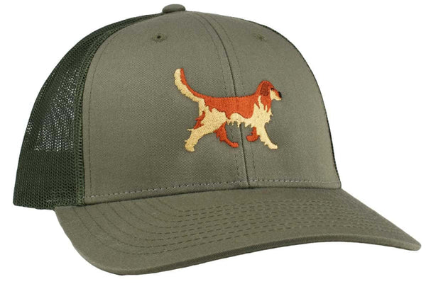 GoTags Golden Retriever Trucker Hats, Baseball Cap Embroidered with Golden Retriever Dog, Mesh Sides