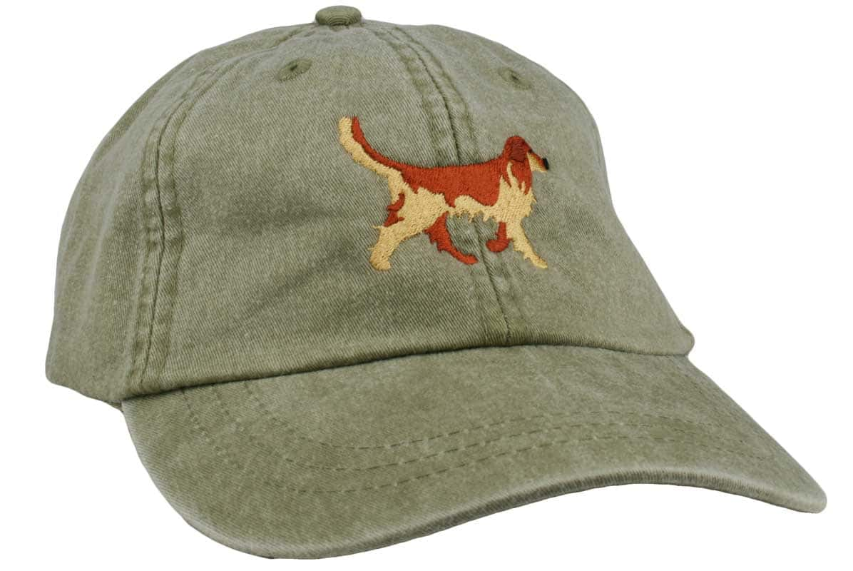 GoTags Embroidered Golden Retriever Twill Cap