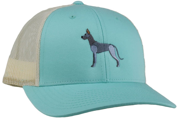 GoTags Great Dane Trucker Hats, Baseball Cap Embroidered with Great Dane Dog, Mesh Sides