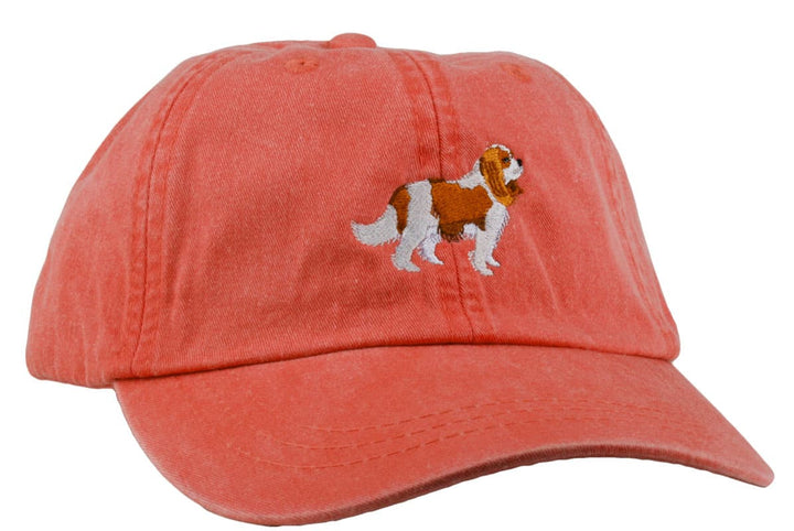 GoTags Cavalier King Charles Baseball Cap, Soft Twill Dad Hat Embroidered with Cavalier King Charles Dog