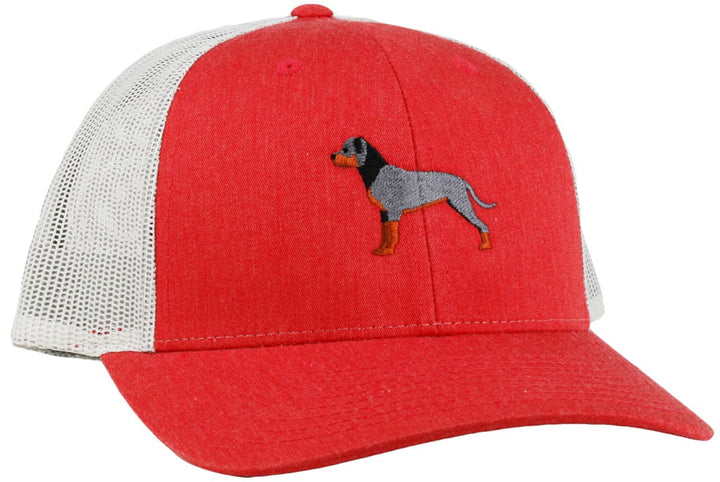 GoTags Rottweiler Trucker Hats, Baseball Cap Embroidered with Rottweiler Dog, Mesh Sides
