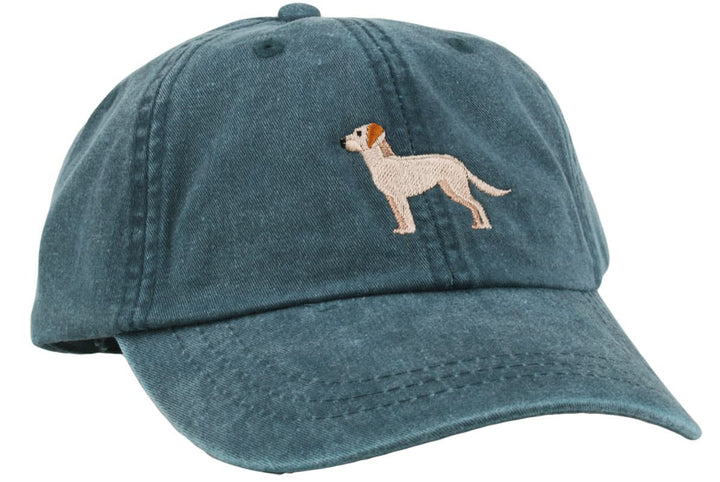 GoTags Yellow Lab Baseball Cap, Soft Twill Dad Hat Embroidered with Yellow Lab Dog