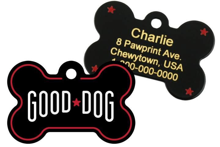 Good Dog Pet ID Tag by Quick Tag