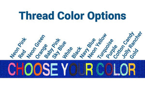 GoTags Thread Color Options