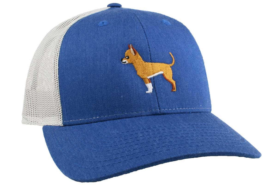 GoTags Chihuahua Trucker Hats, Baseball Cap Embroidered with Chihuahua Dog, Mesh Sides