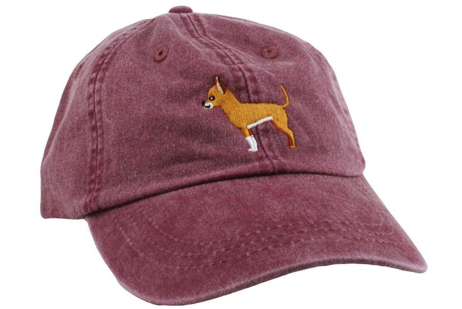 GoTags Chihuahua Baseball Cap, Soft Twill Dad Hat Embroidered with Chihuahua Dog