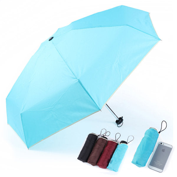Mini Ultra light Rain Shine Anti UV Folding Emergency Umbrellas - Slabiti