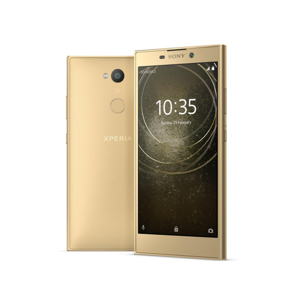 Original SONY Xperia L2 Global Version 5.5 Inch HD NFC 3300mAh 3GB RAM 32GB ROM MT6737T Quad Core 1.5GHz 4G Smartphone - Slabiti