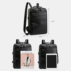 Multifunctional Large Capacity Backpack Laptop Bag With USB Charging Port For Business - Slabiti
