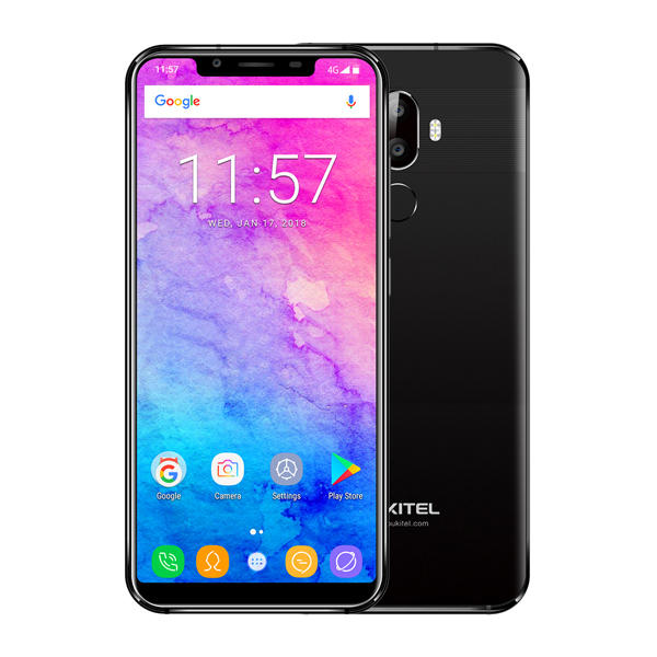 Oukitel U18 5.85 Inch 21:9 Full Screen Face Unlock 4GB RAM 64GB ROM MT6750T 1.5GHz 4000mAh 4G Smartphone - Slabiti