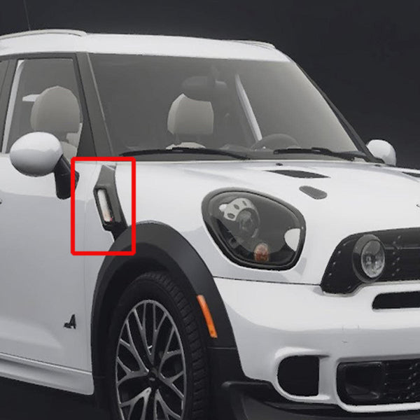 Dynamic LED Side Marker Lamps Turn Signal Repeater Lights for MINI R60 COUNTRYMAN R61 PACEMAN - Slabiti