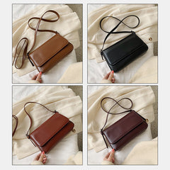 Women Fashion Simple Shoulder Bag Crossbody Bag Handbag - Slabiti