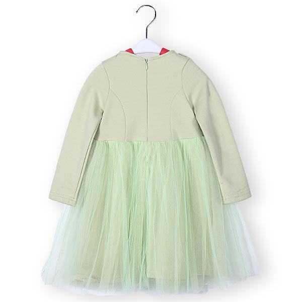 Baby Children Girls Dress Princess Long Sleeve Tutu Skirt - Slabiti