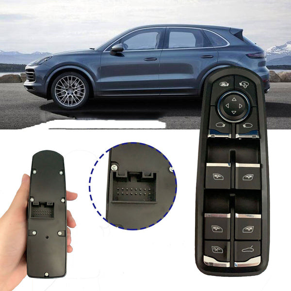 Car Windows Switch For Porsche Panamera Cayenne Macan 2011-2017 7PP959858M 7PP959858A 7PP 959 858 A - Slabiti