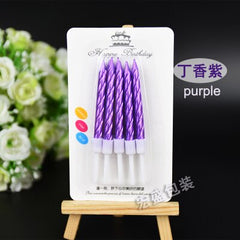 100 box Dream colorful color Candle Cake Party Birthday Party Festival Supplies Lovely Birthday Candles for Kitchen Baking Gifts - Slabiti