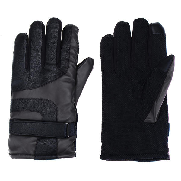 Motorcycle Gloves Winter Warm Waterproof Windproof Protective Gloves Waterproof For Men Women - Slabiti