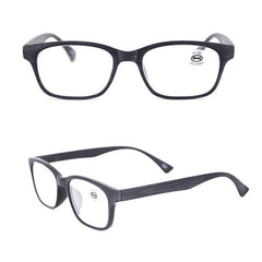 Men Women Lightwight Reading Glasses Imitation Wood Grain Frame Presbyopia Eyeglasses With Diopter - Slabiti