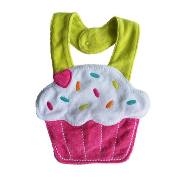Baby Infant Cartoon Bib Waterproof Girl Boy Cotton Bibs Animals Soft Saliva Towels - Slabiti